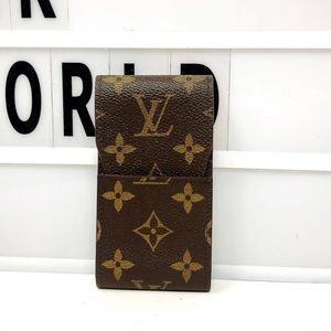 Louis Vuitton Etui monogram small cigarette case